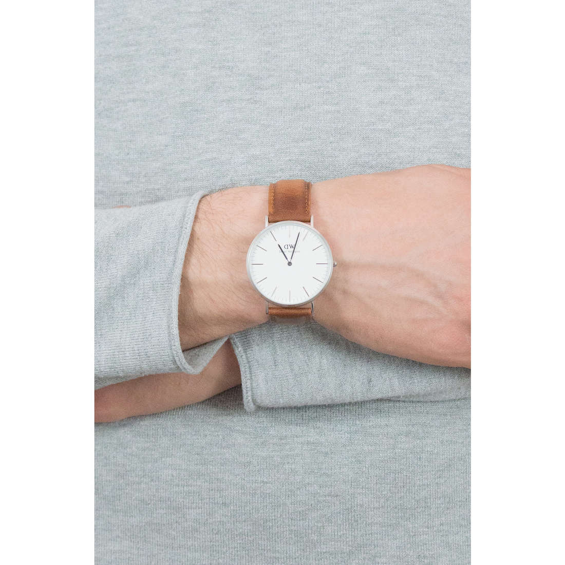 Daniel Wellington only time Classic Durham man DW00100110 photo wearing