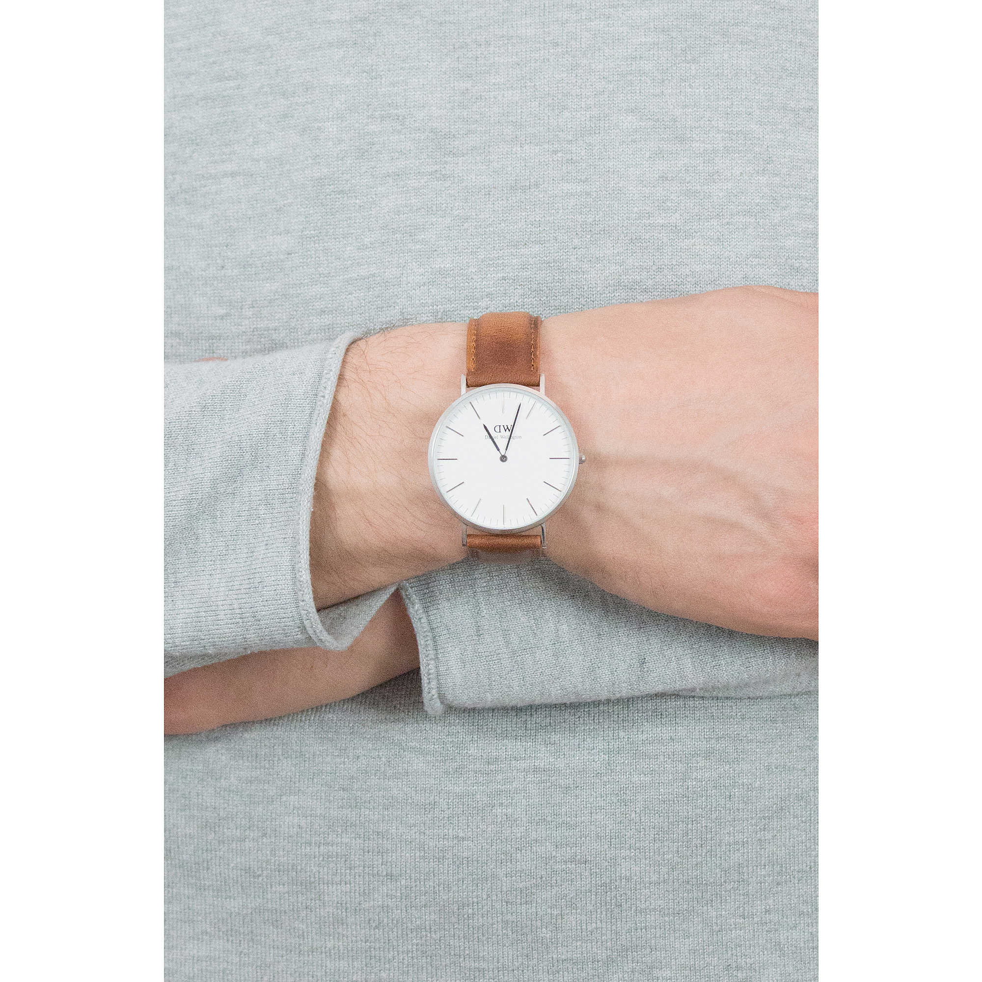 Daniel Wellington only time Classic Durham man DW00100110 photo wearing.  zoom 57f5c53651c