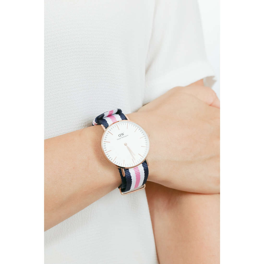 Daniel Wellington only time Classic woman DW00100034 indosso