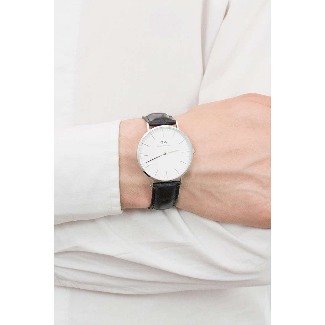 Daniel Wellington only time Classic Reading man DW00100028 photo wearing