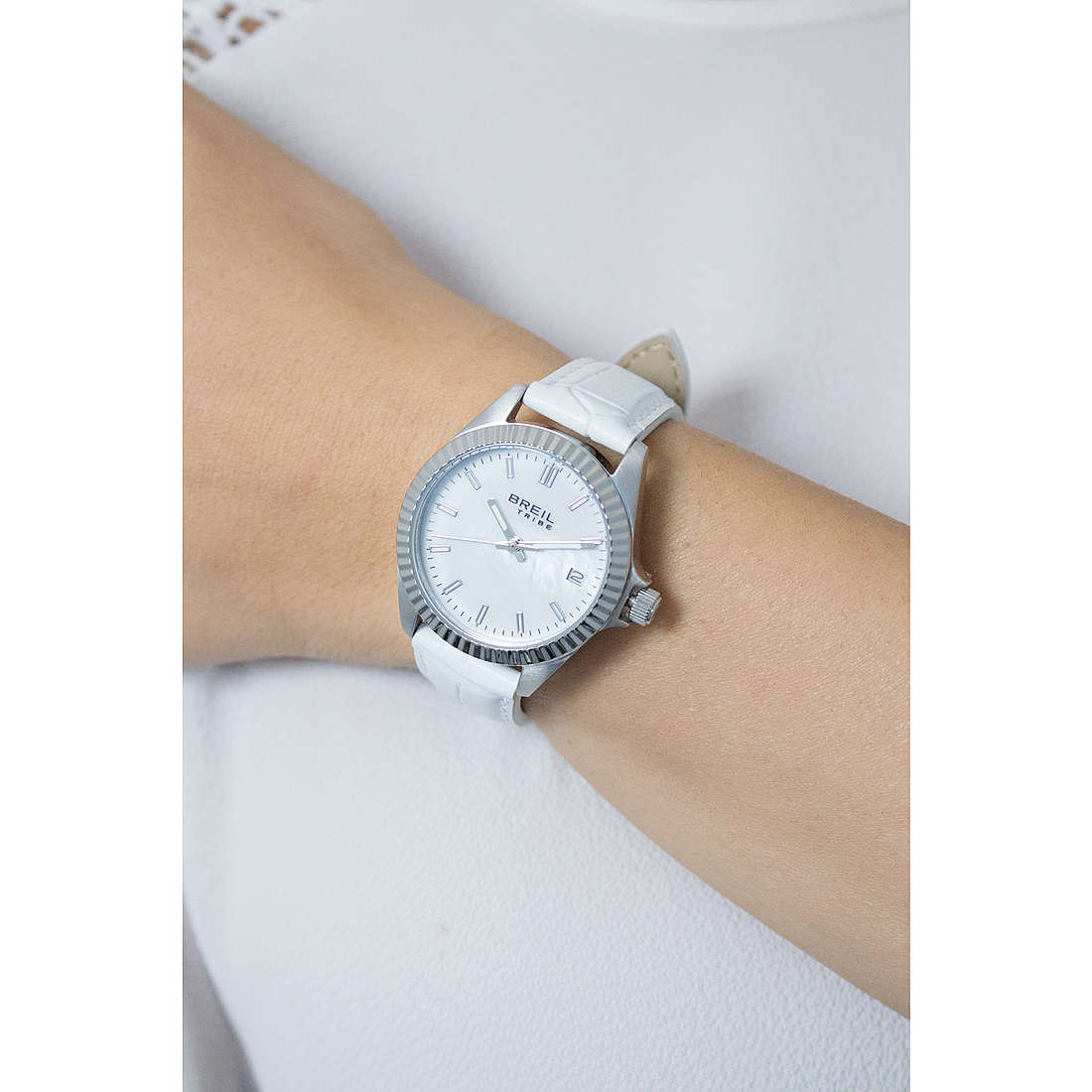 Breil only time Classic Elegance Extension woman EW0236 photo wearing