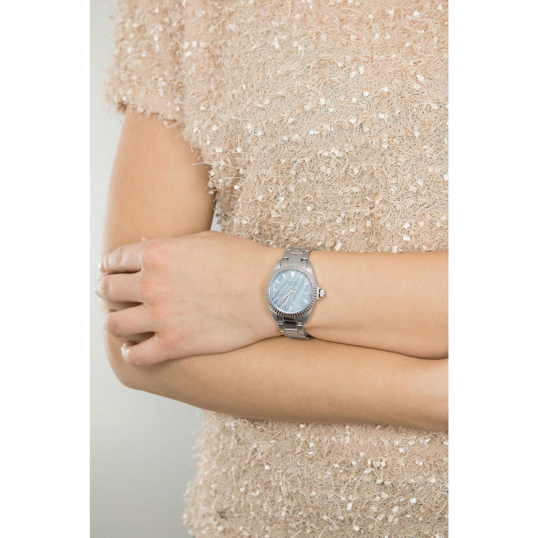 Breil only time Classic Elegance Extension woman EW0238 indosso