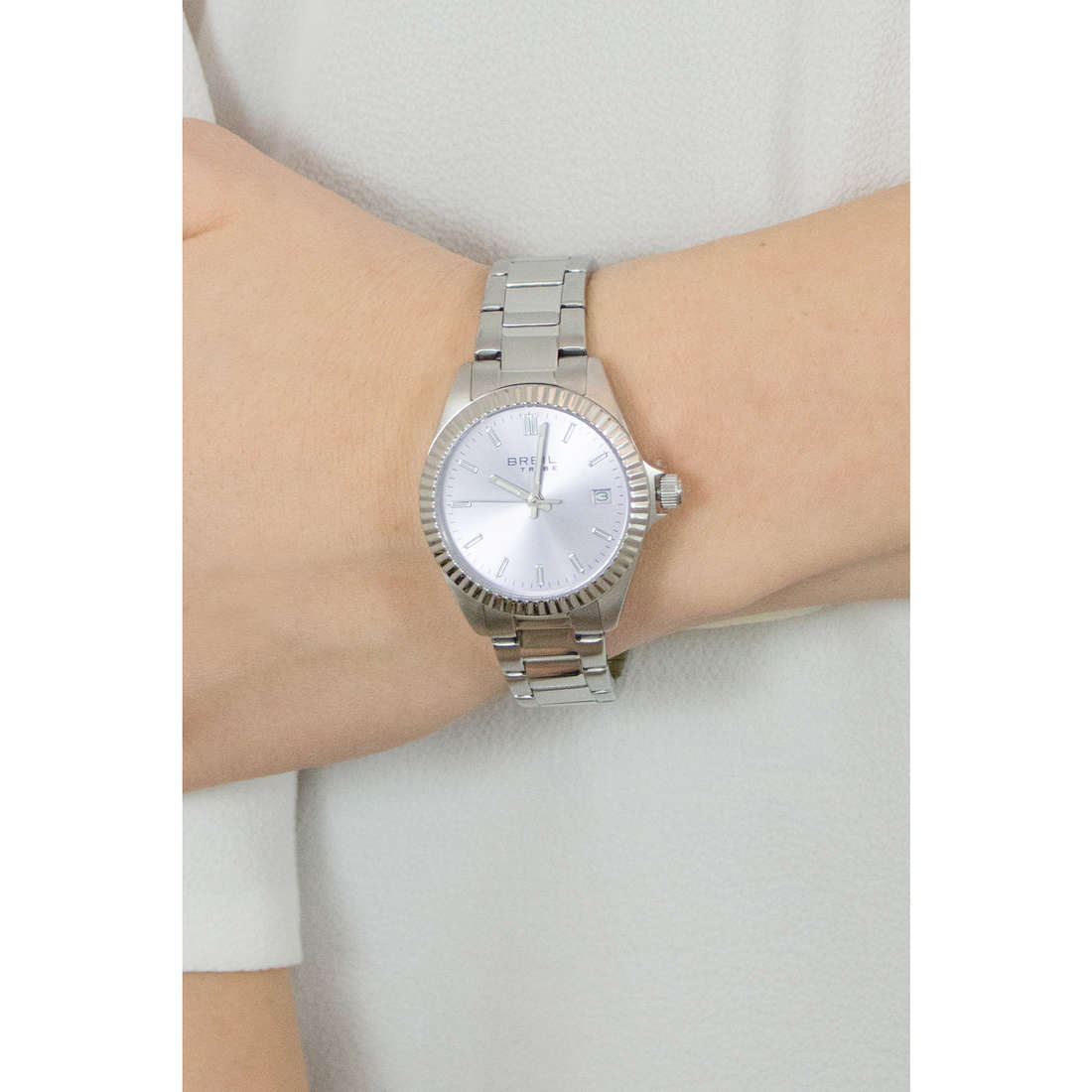 Breil only time Classic Elegance Extension woman EW0239 photo wearing