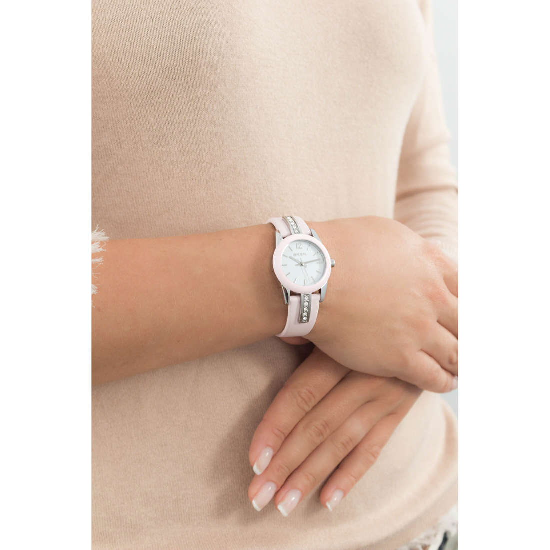 Breil only time Liberty woman TW1392 photo wearing