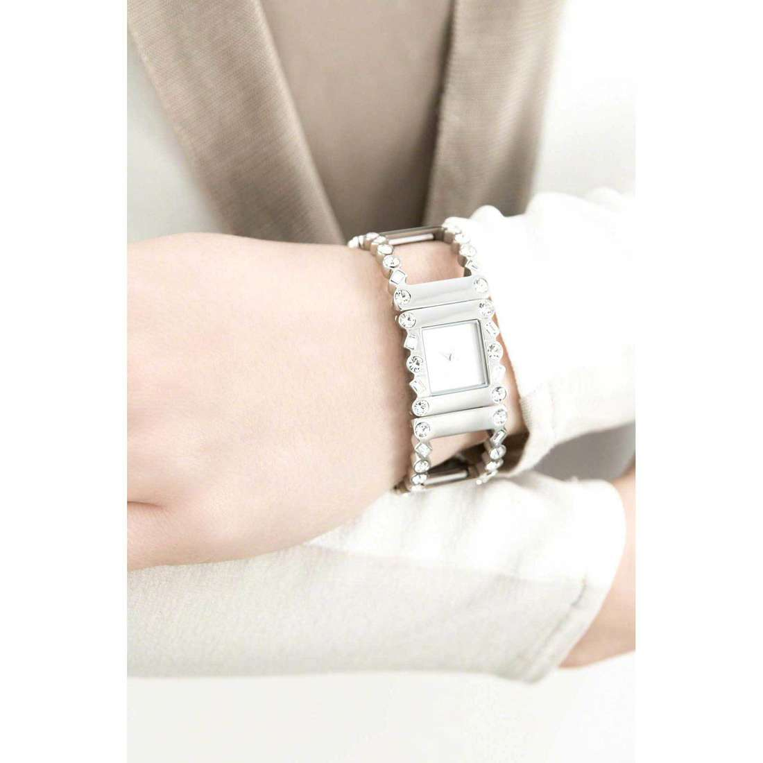 Breil only time Rolling Diamonds woman TW1367 indosso