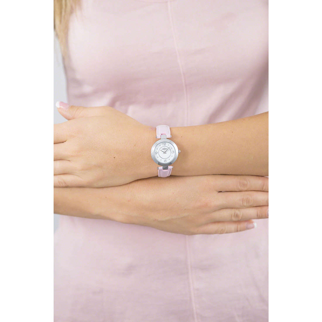 Chronostar only time Pastel woman R3751243509 indosso