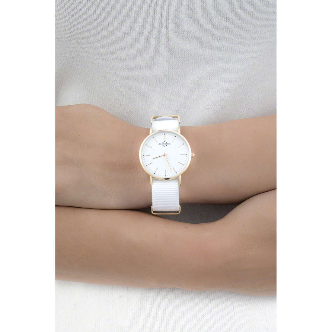 Chronostar only time Preppy woman R3751252503 indosso