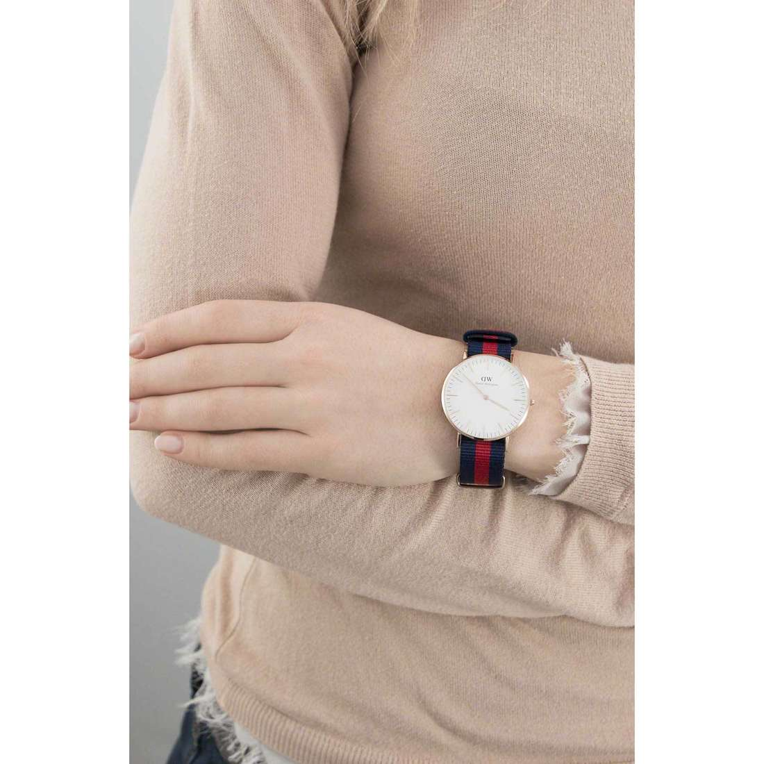 Daniel Wellington only time Classic woman DW00100029 indosso