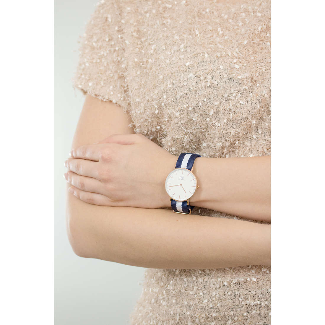 Daniel Wellington only time Classic woman DW00100031 indosso