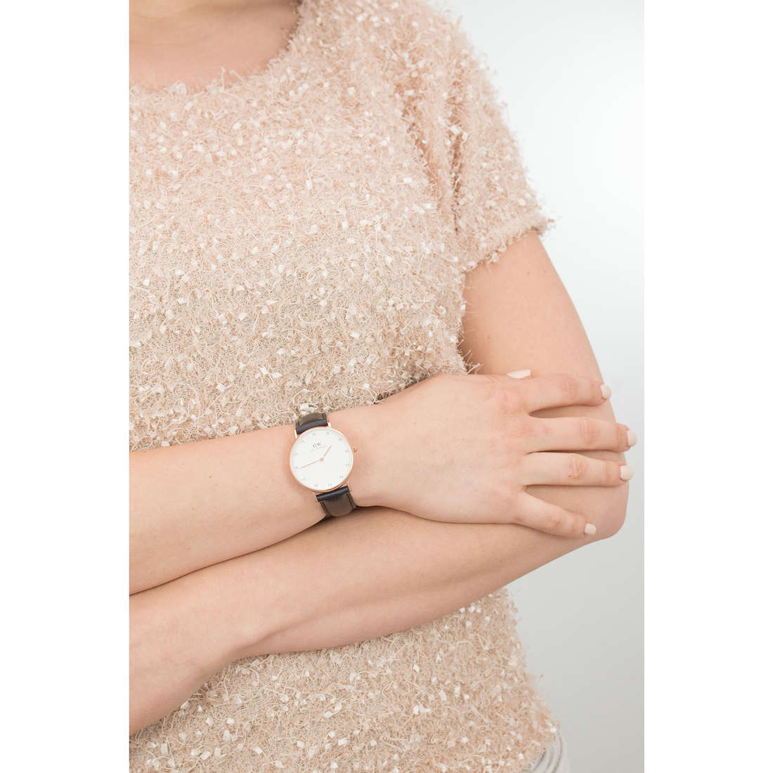 Daniel Wellington only time Classy woman DW00100076 photo wearing