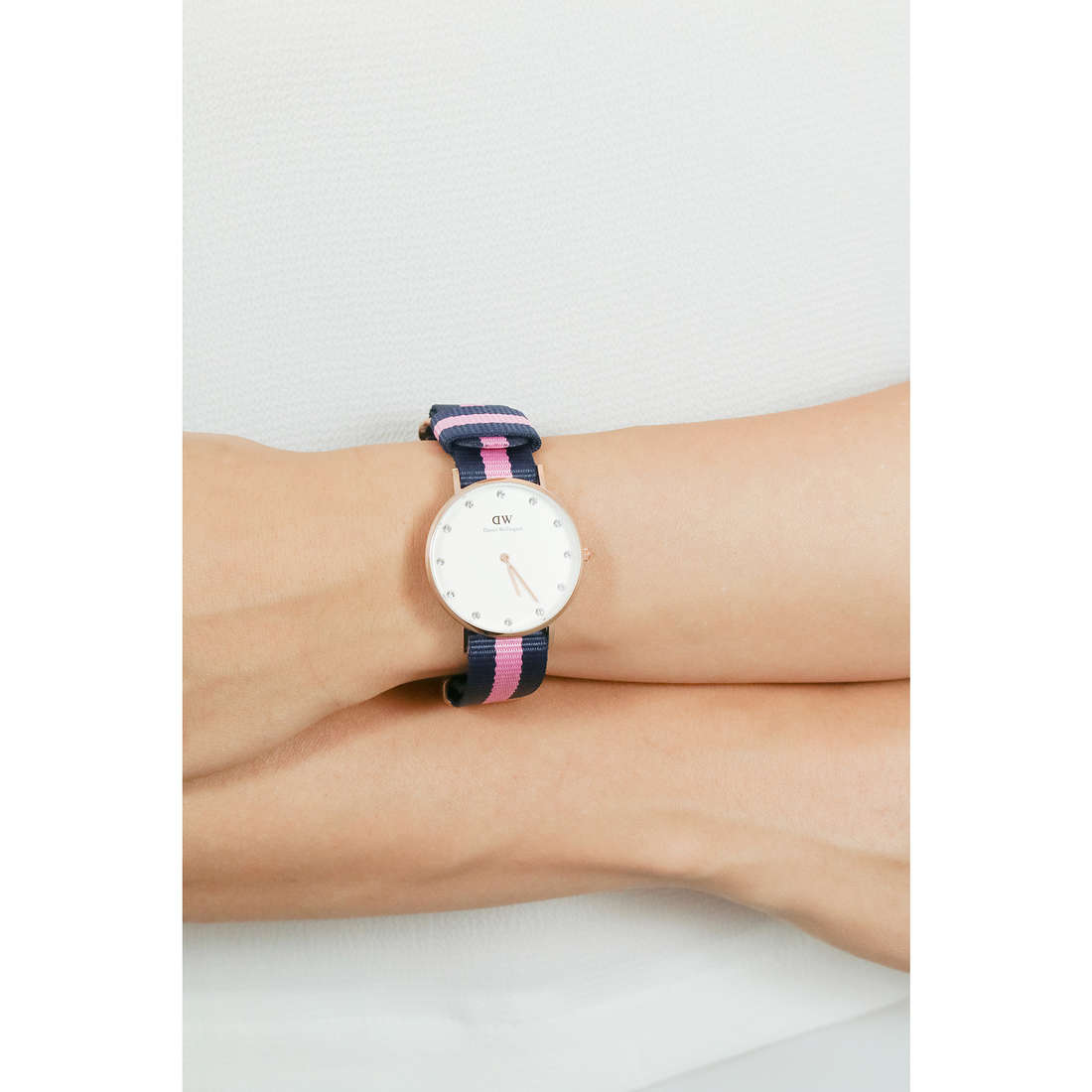 Daniel Wellington only time Classy woman DW00100077 indosso
