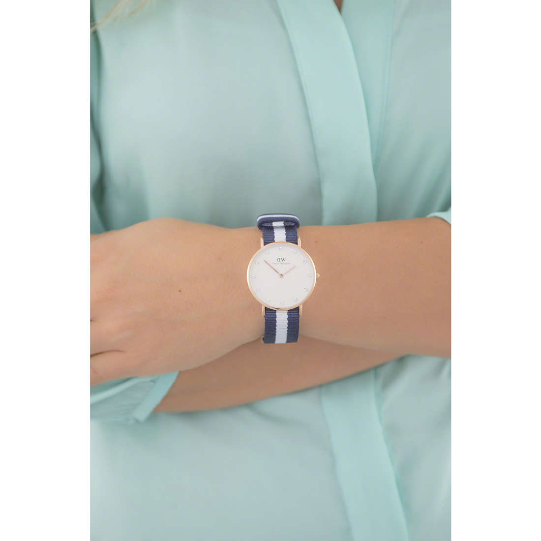 Daniel Wellington only time Classy woman DW00100078 indosso