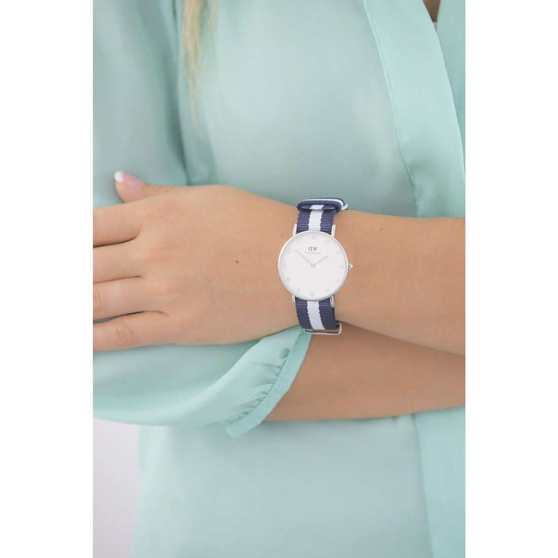 Daniel Wellington only time Classy woman DW00100082 photo wearing