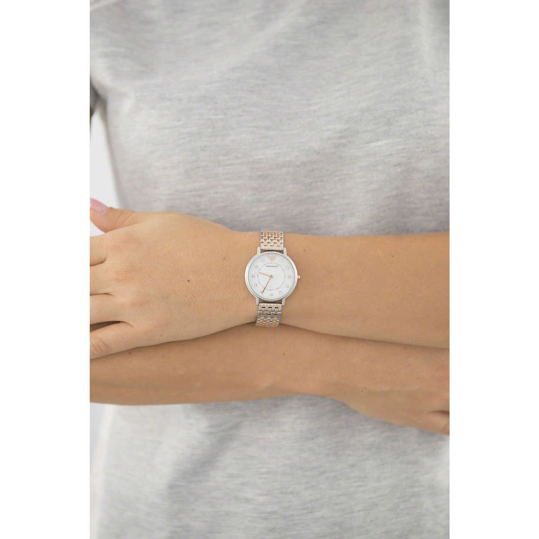 Emporio Armani only time woman AR2508 photo wearing