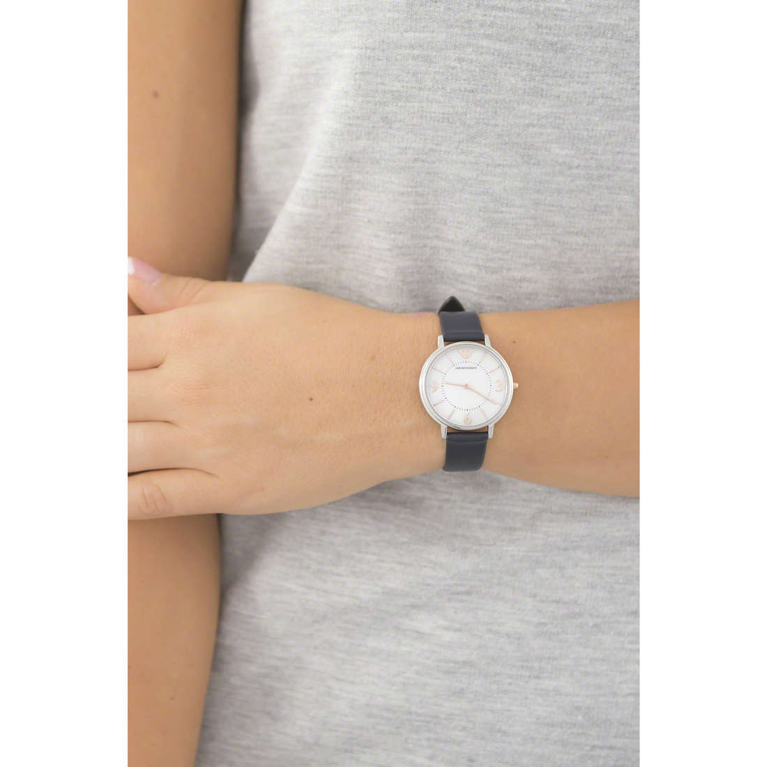 Emporio Armani only time woman AR2509 photo wearing