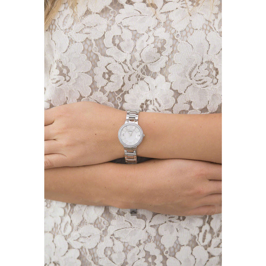 Fossil only time woman ES3282 indosso