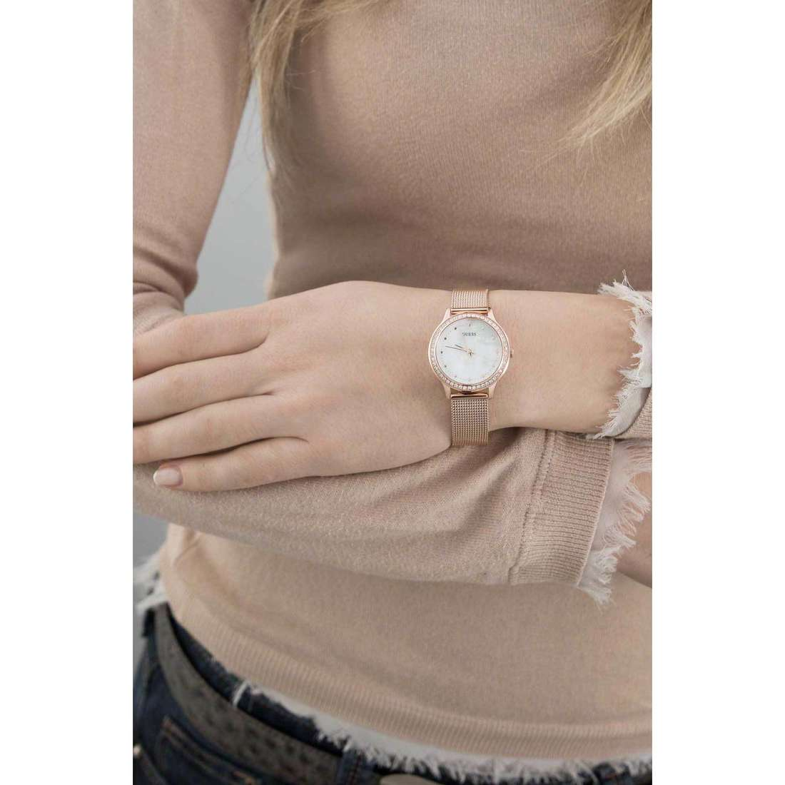 Guess only time Chelsea woman W0647L2 indosso