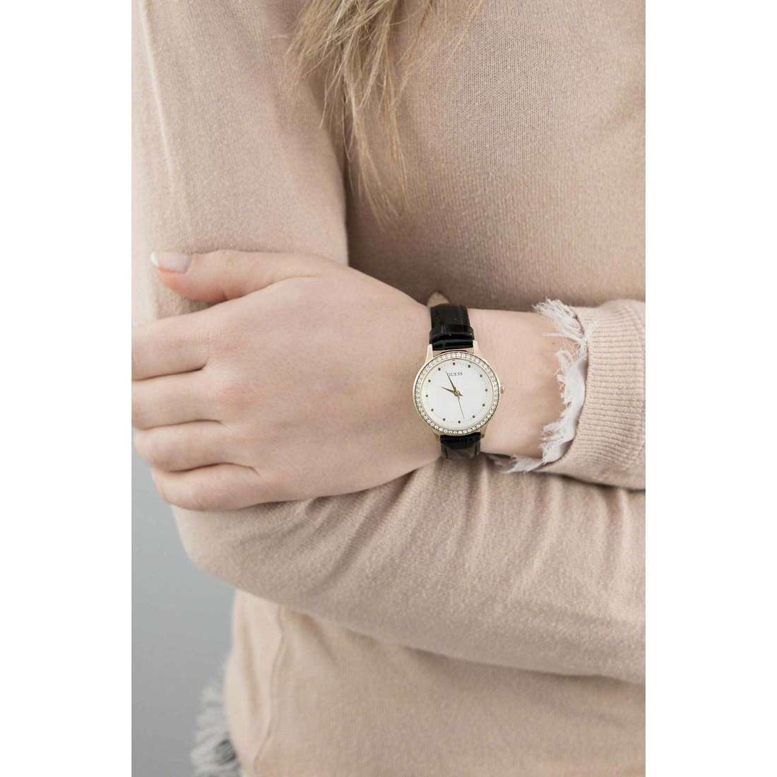 Guess only time Chelsea woman W0648L1 indosso
