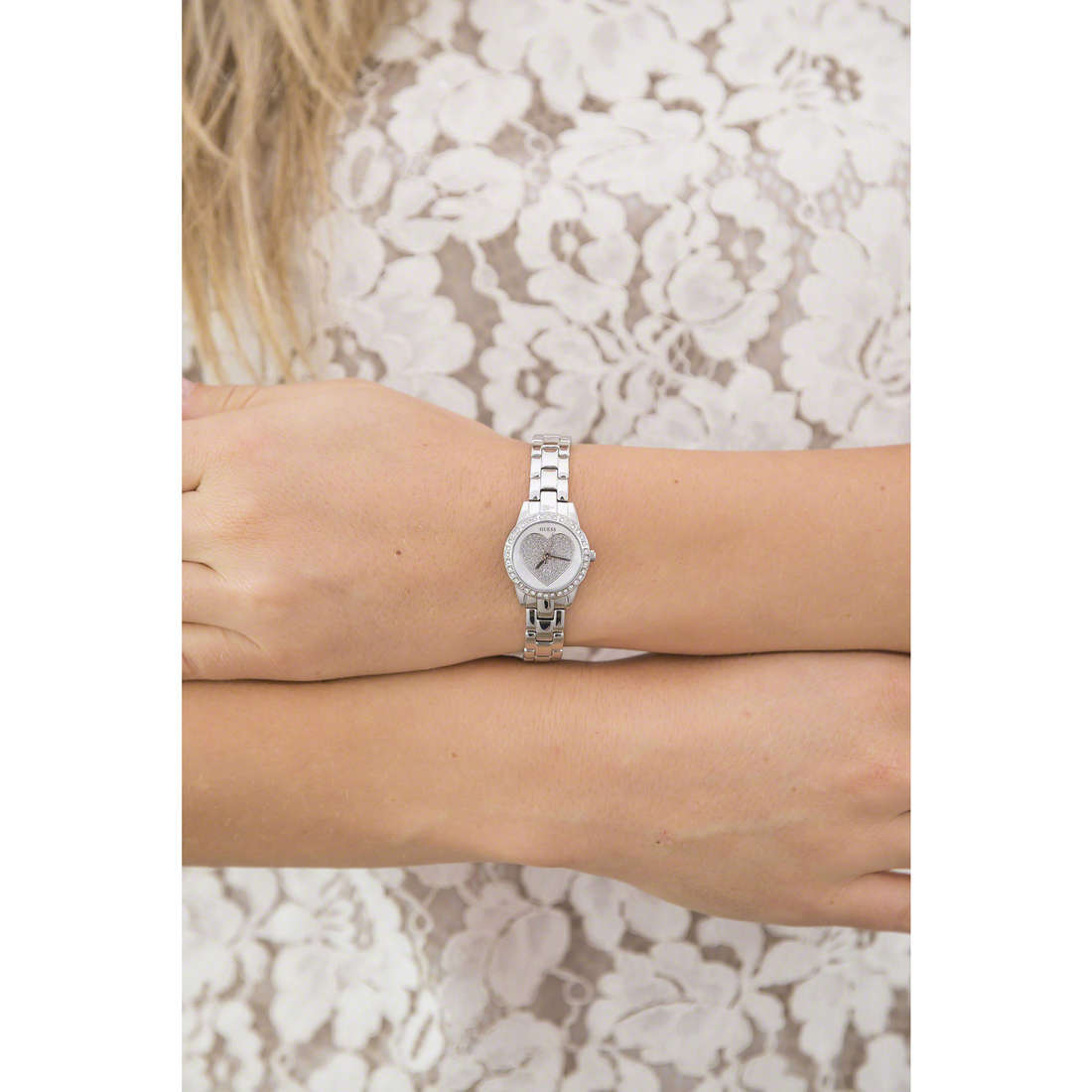 Guess only time Sweetheart woman W0730L1 indosso