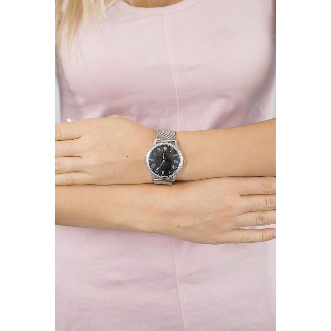 Guess only time woman W0406G1 indosso