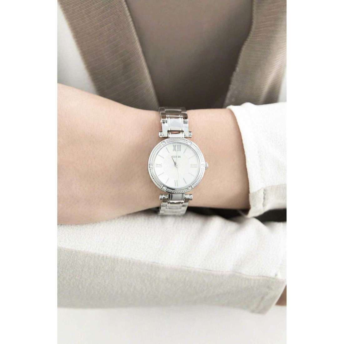 Guess only time woman W0767L1 indosso