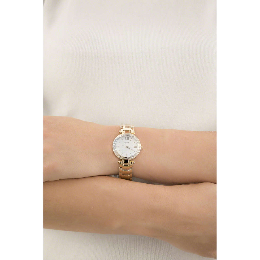 Guess only time woman W0767L2 indosso
