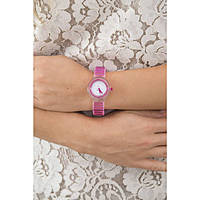 watch only time woman Hip Hop Sheer Colors HWU0444