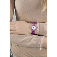 watch only time woman Hip Hop Sheer Colors HWU0445
