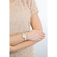 watch only time woman Hoops Cherié Diamonds 160 2593LBG09