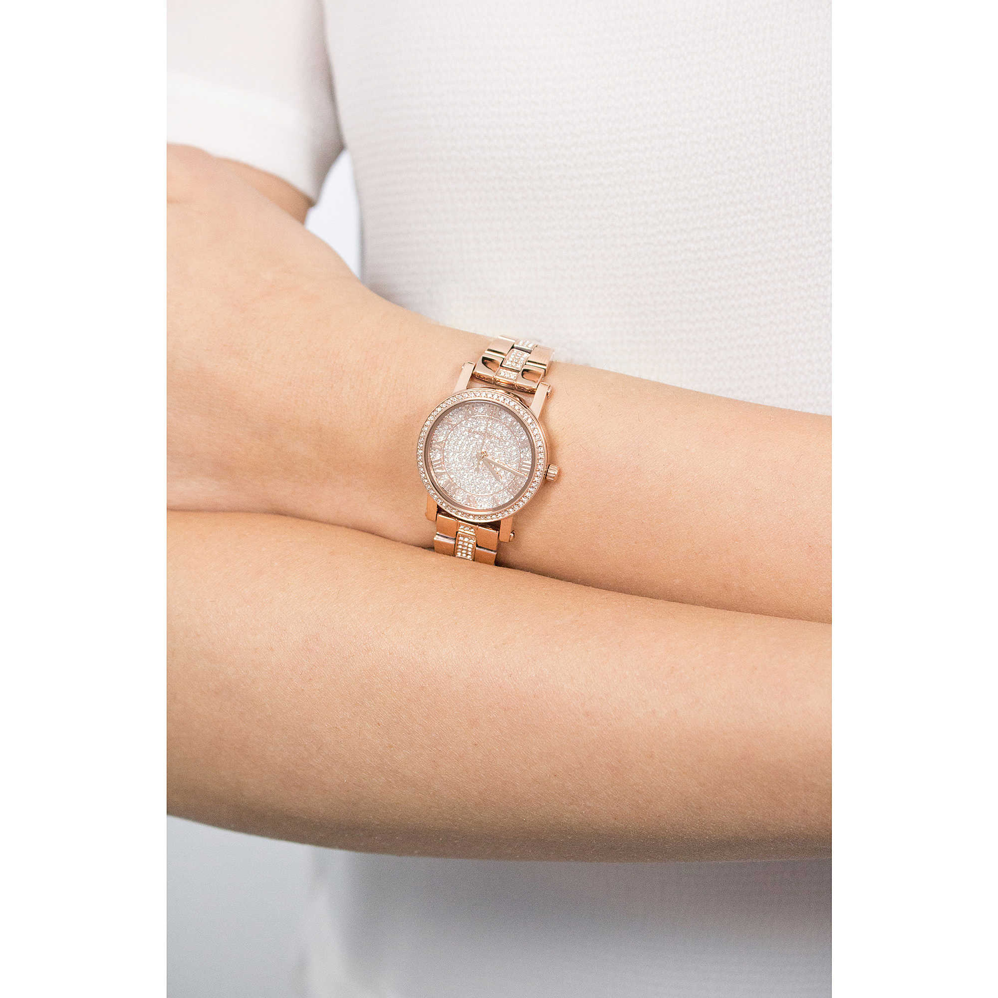 1977a76cd975 watch only time woman Michael Kors Petite Norie MK3776 only time ...