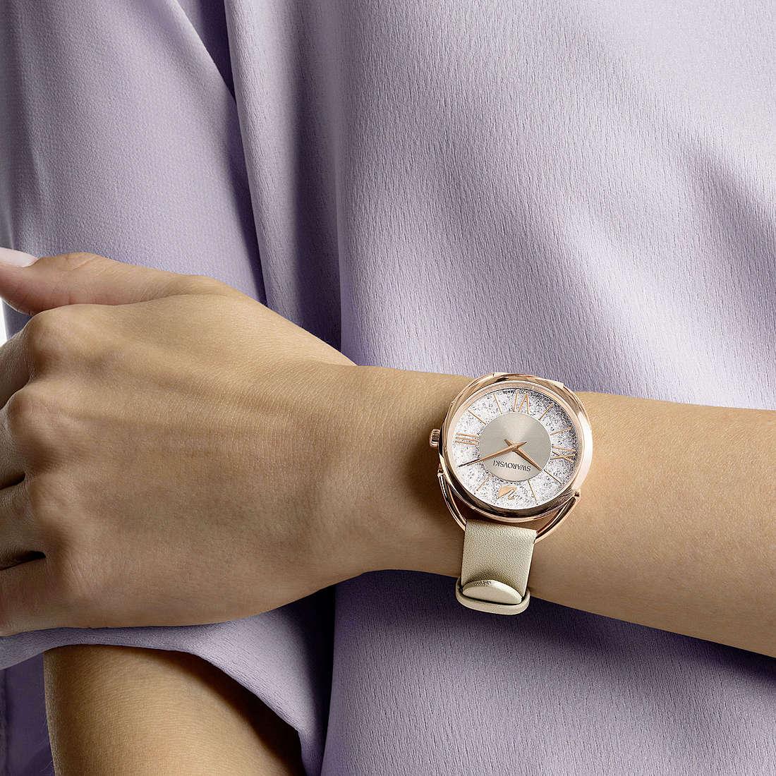 Watch Only Time Woman Swarovski Crystalline Glam 5452455 Only Time Swarovski
