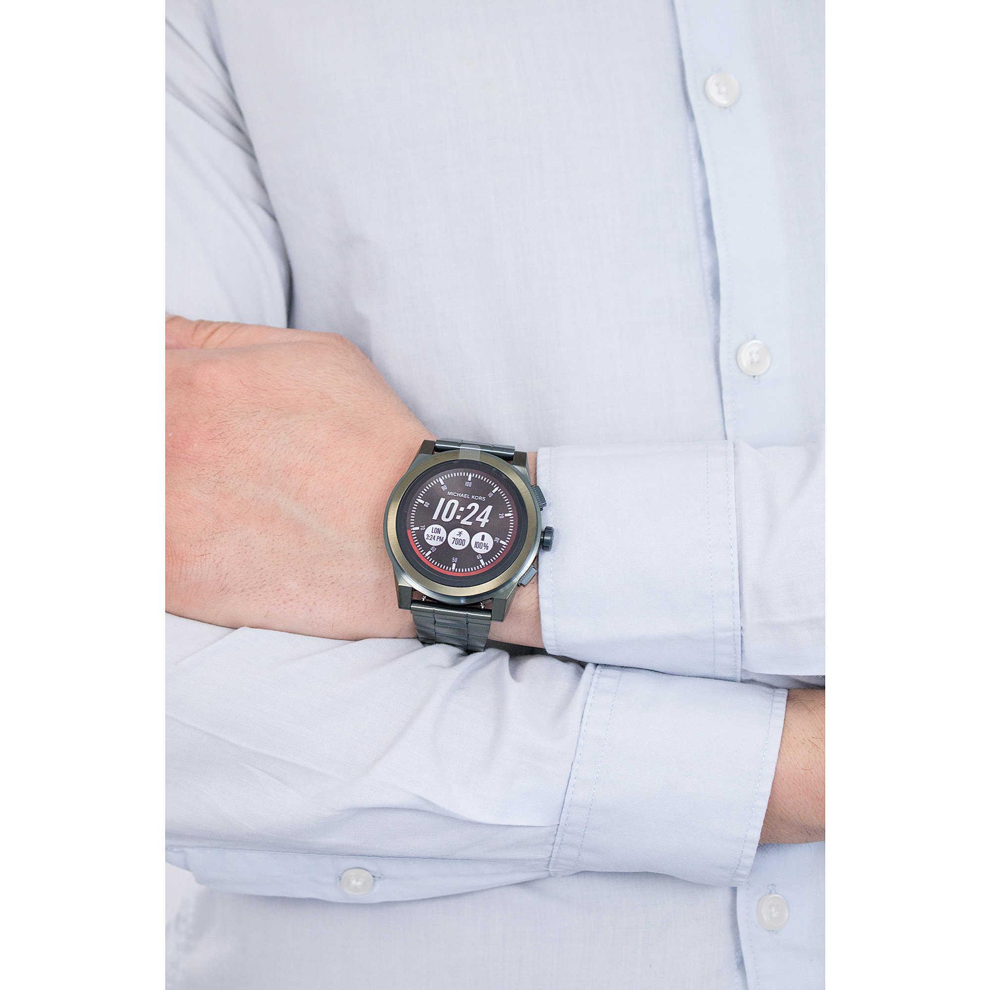 fdf42a5bee7a watch Smartwatch man Michael Kors Grayson MKT5038 Smartwatches ...