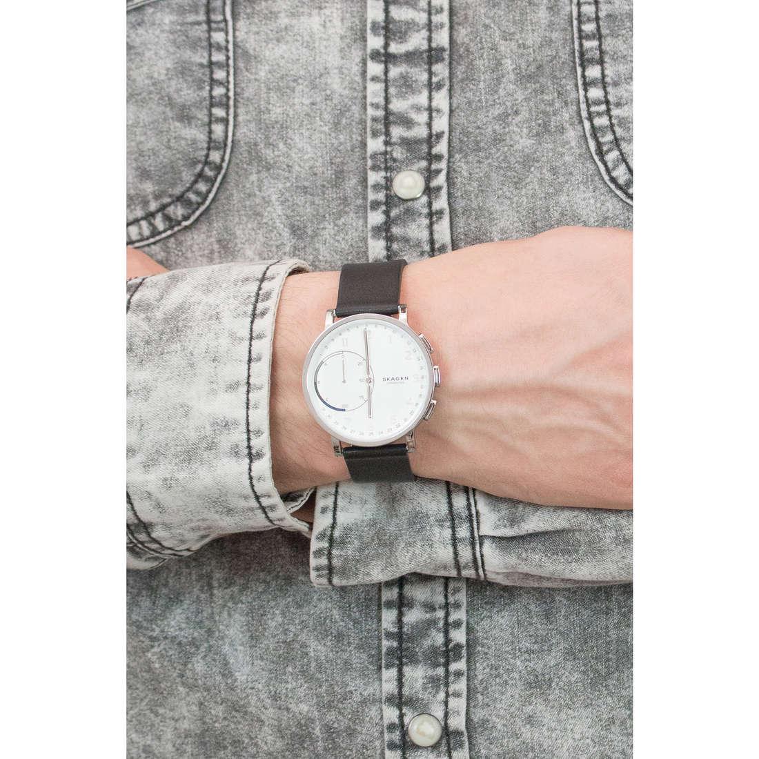 Skagen Smartwatches Hagen man SKT1101 indosso
