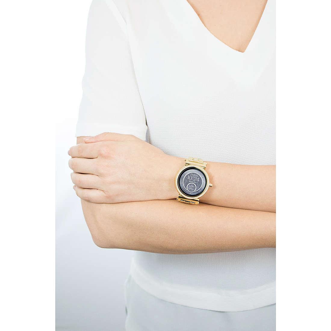 Michael Kors Smartwatches Sofie woman MKT5023 photo wearing