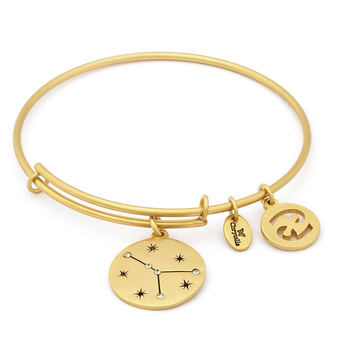 vendite speciali raccolta di sconti pacchetto alla moda e attraente Dettagli su bracciale donna gioielli Chrysalis Zodiaco offerta trendy cod.  CRBT1304GP