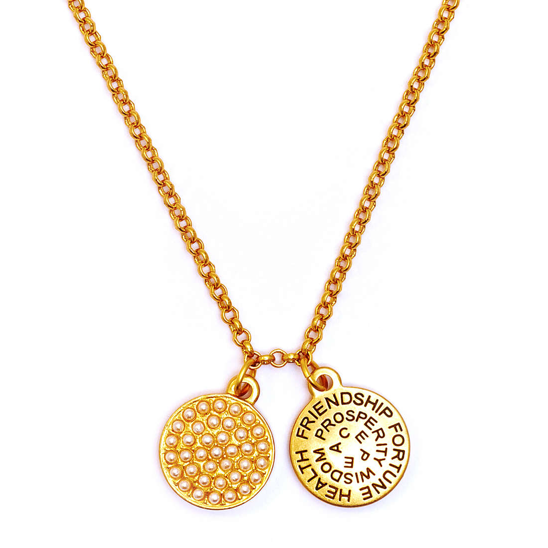 sito affidabile nuovo concetto brillantezza del colore Dettagli su collana donna gioielli Chrysalis Buona Fortuna offerta trendy  cod. CRNT0106GP