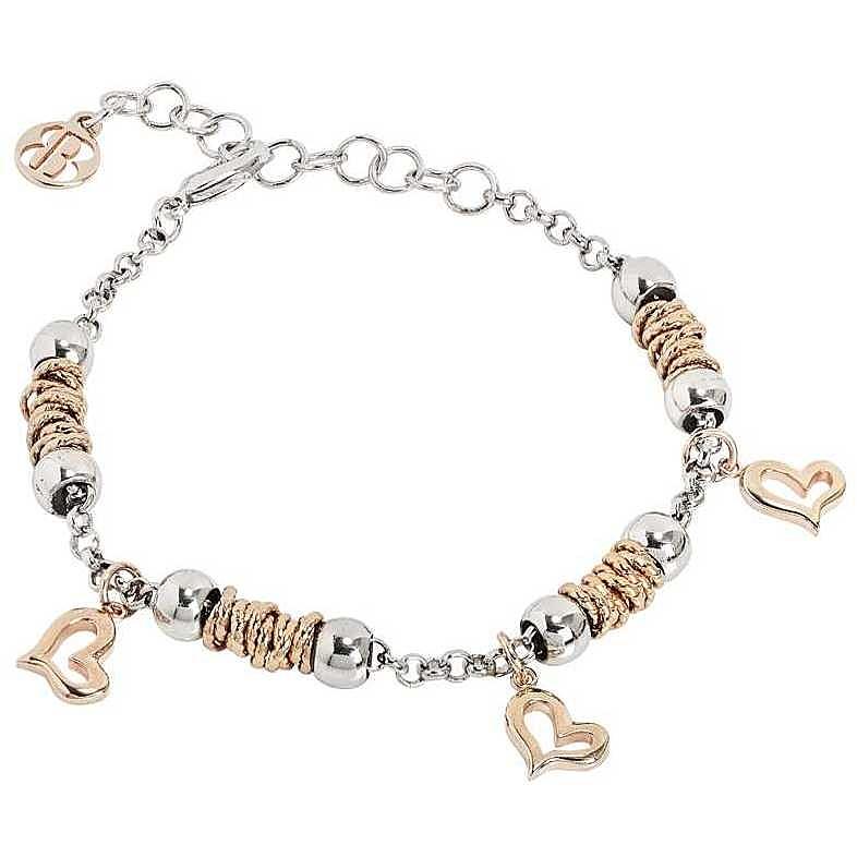nuovo prodotto b0a1d 9b5e8 Dettagli su bracciale donna gioielli Boccadamo Passioni trendy cod. XBR448RS