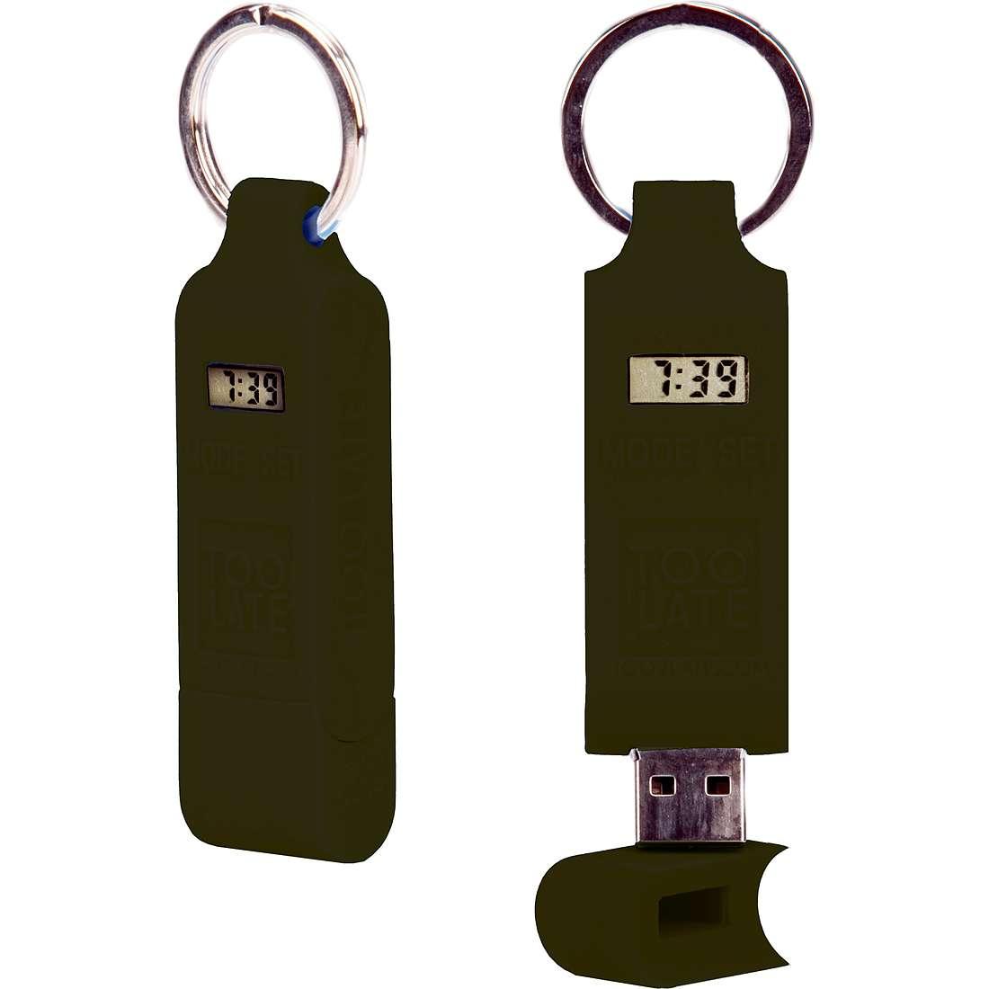 accessoire unisex bijoux Too late Chiavetta USB TOO0722