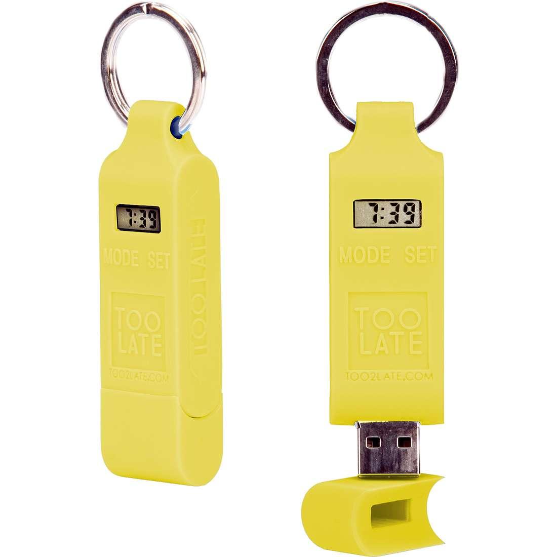 accessorio unisex gioielli Too late Chiavetta USB TOO0746