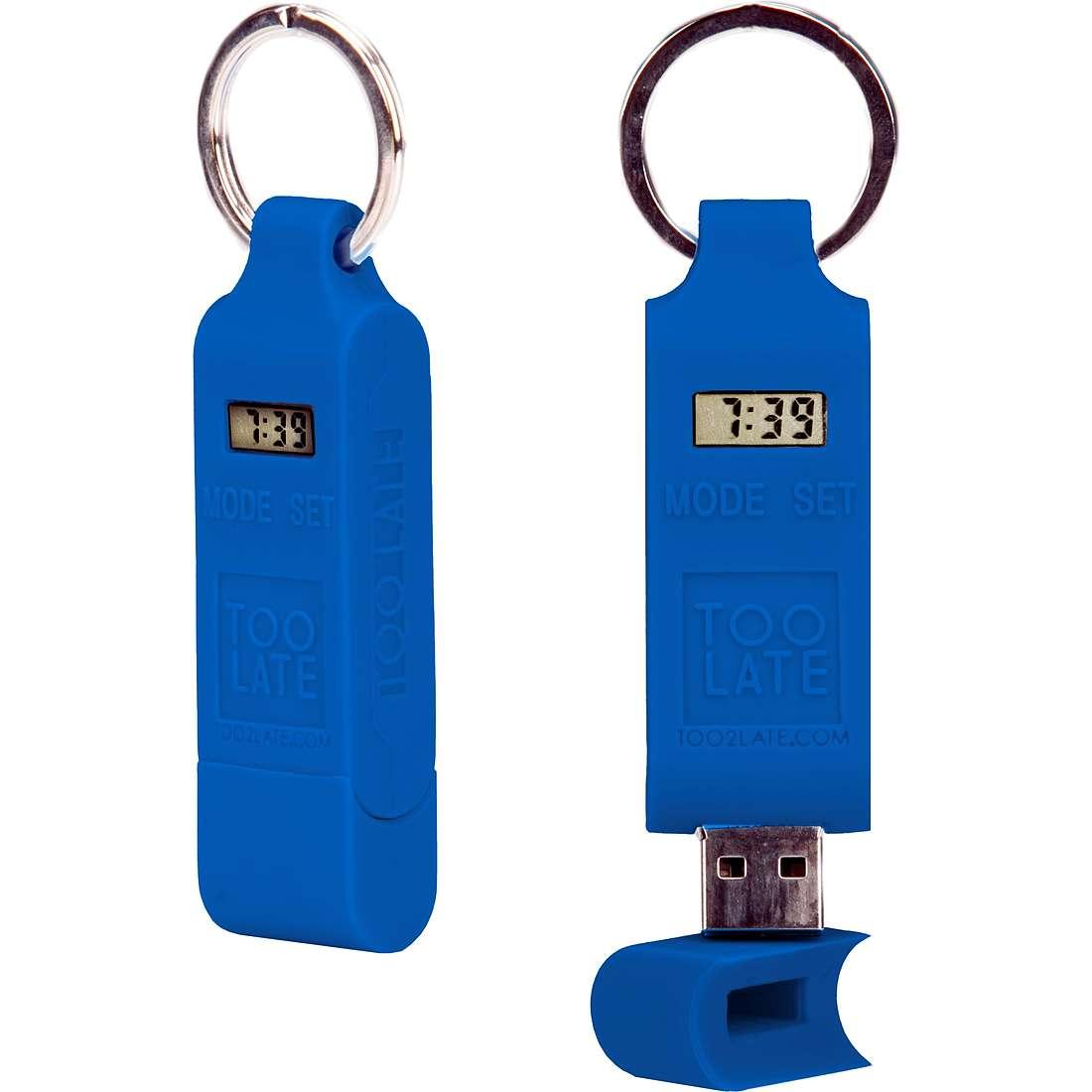 accessory unisex jewellery Too late Chiavetta USB TOO0739