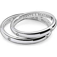alliance femme bijoux Comete Dante e Beatrice ANB 1862B M7