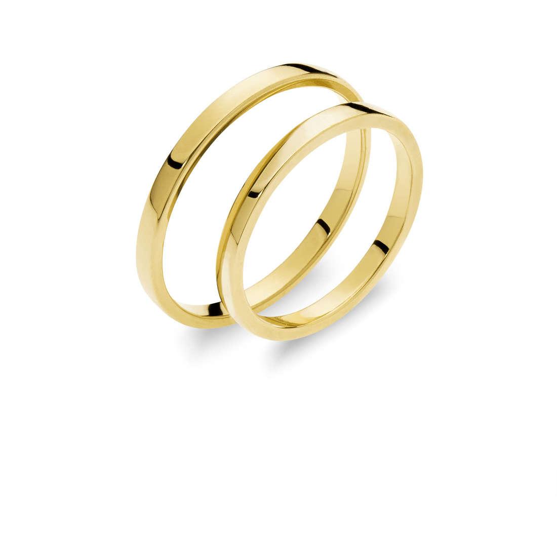 alliance femme bijoux Comete Otello e Desdemona ANB 1863G M20