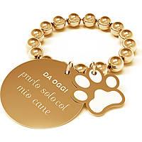 Anello Donna 10 Buoni Propositi Parlo Solo Col Mio Cane Collezione Petit R0615/GO