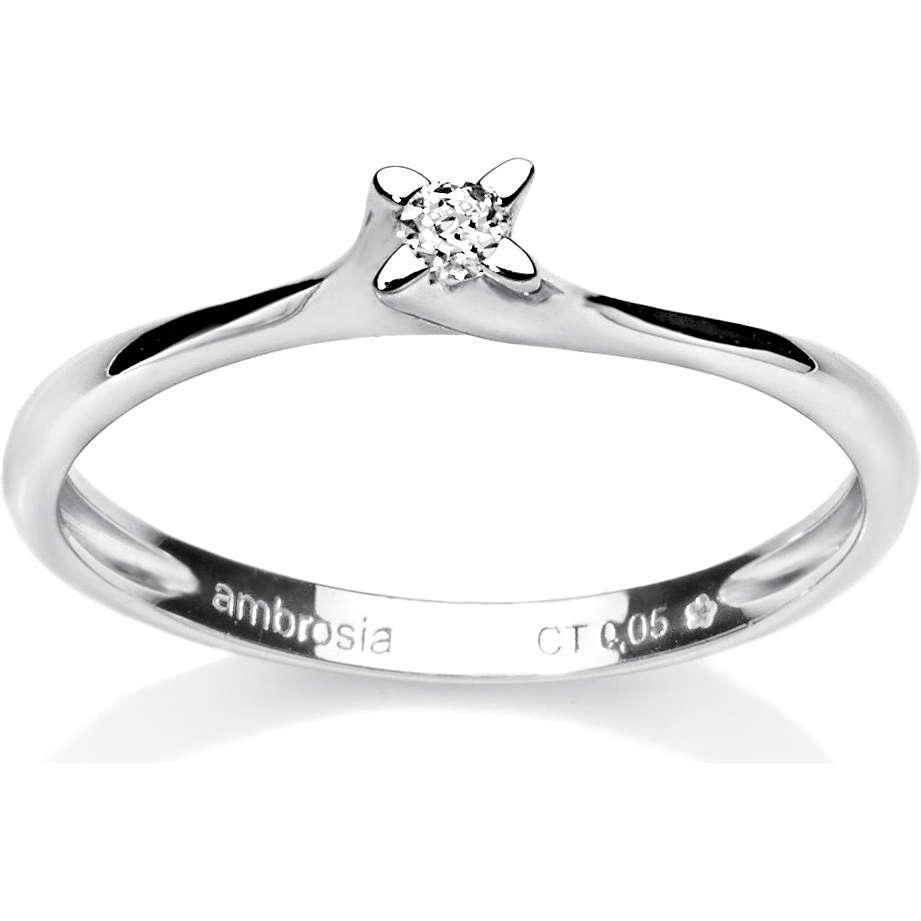 anello donna gioielli Ambrosia AAD 003