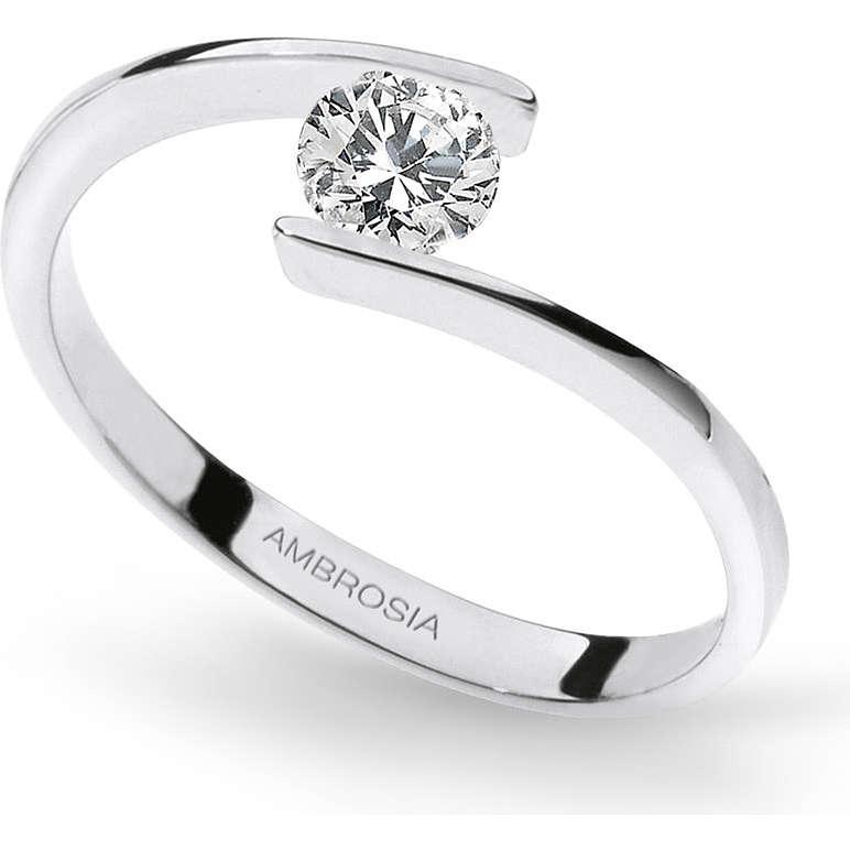 anello donna gioielli Ambrosia AAZ 034