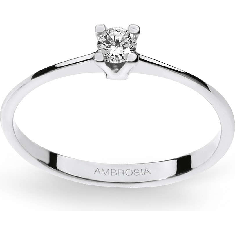 anello donna gioielli Ambrosia AAZ 035