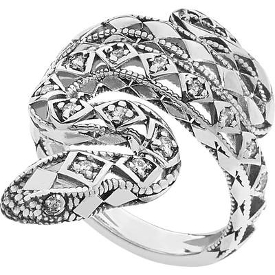 anello donna gioielli Ambrosia Back To Black AAA 031