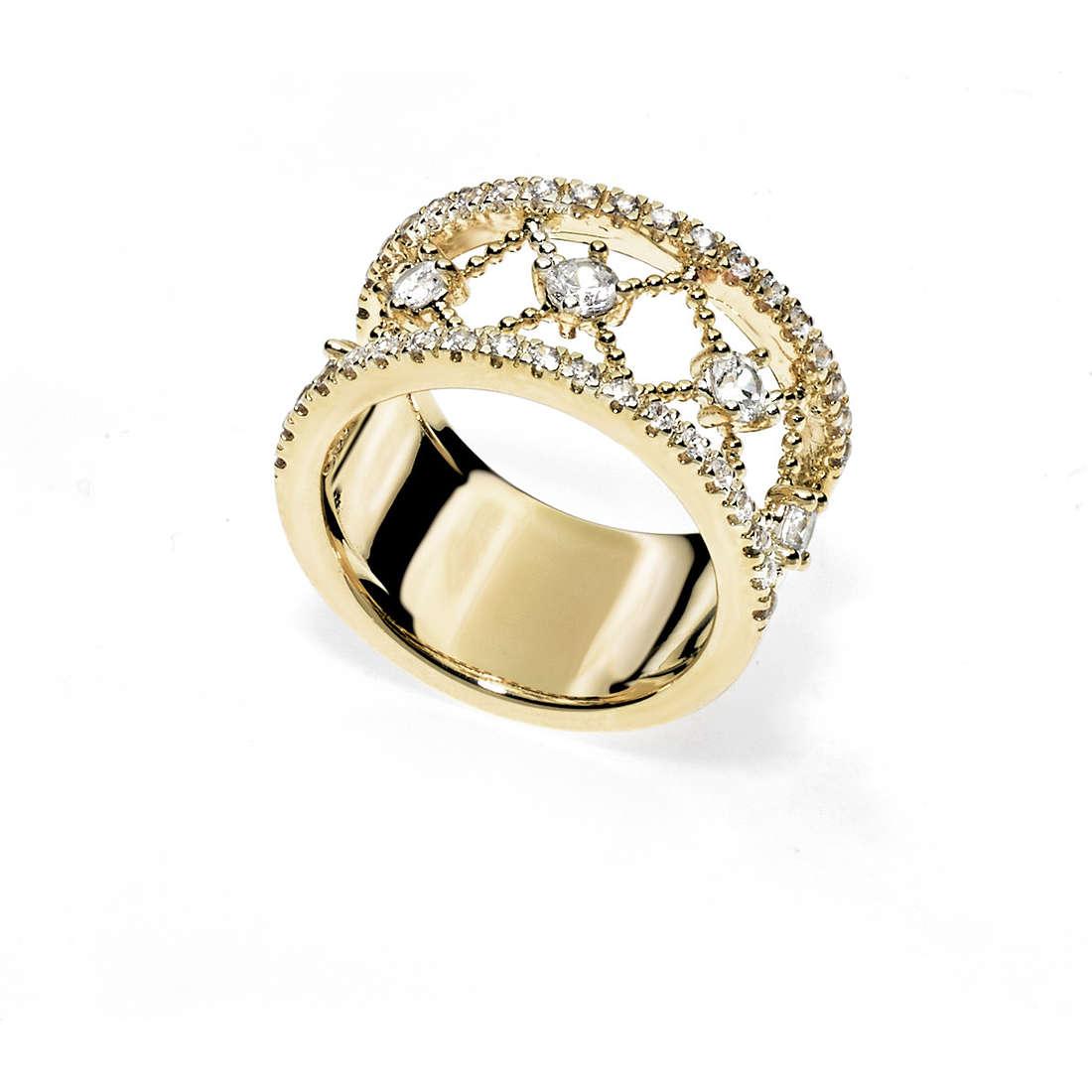 anello donna gioielli Ambrosia Bronzo ABA 003M