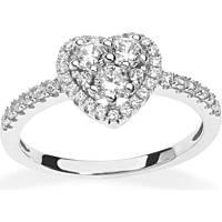 anello donna gioielli Ambrosia Glam Love AAA 033 S