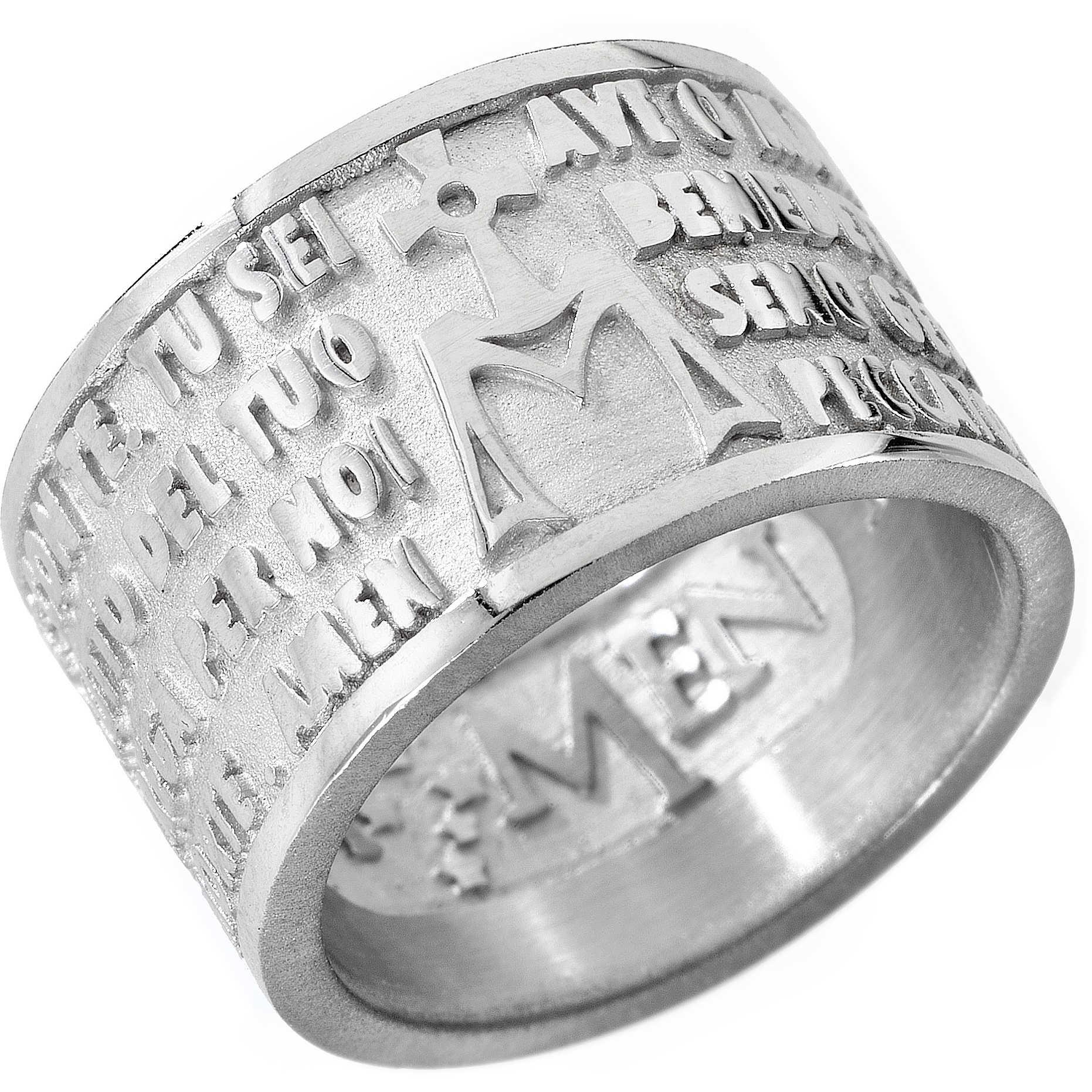 37f8a8bda521cd anello donna gioielli Amen AM-18 anelli Amen
